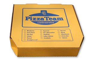 Pizza Verpackungen